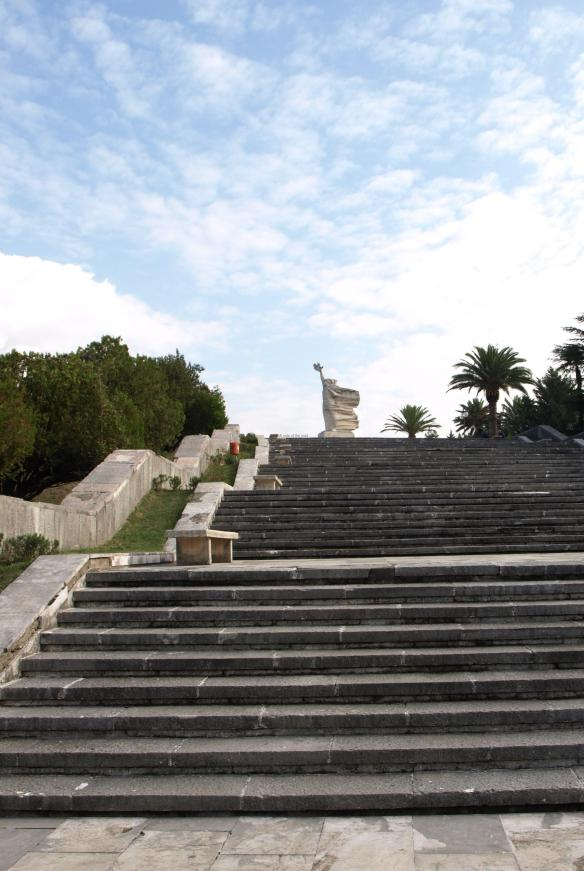 Tirana Martyrs' Cemetery Approach