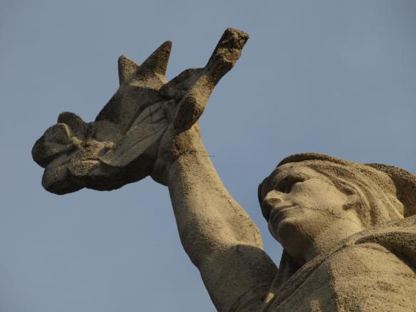 Tirana Martyrs' Cemetery - Mother Albania (detail)