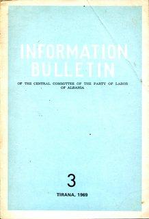 Information Bulletin 1969 No 3 - Part 2