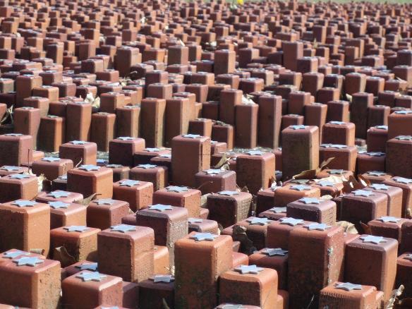Westerbork Camp Memorial - 102,000 Bricks