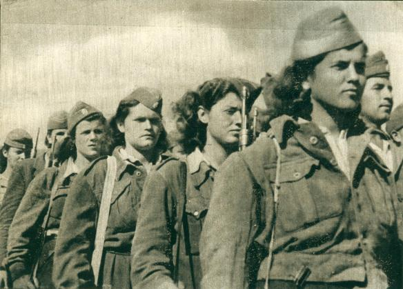 Greek Partisan Women