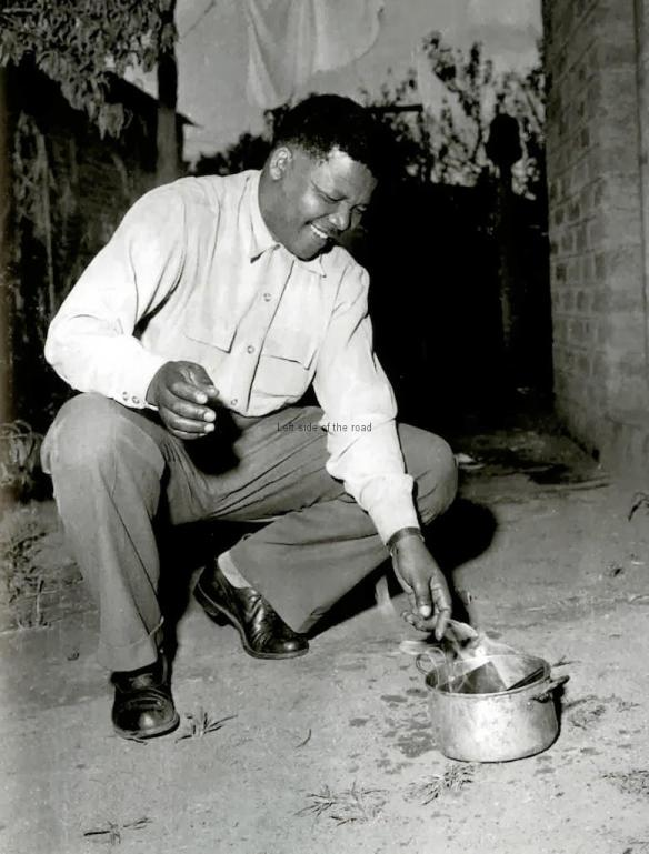 After Sharpville - Mandela burns his passbook
