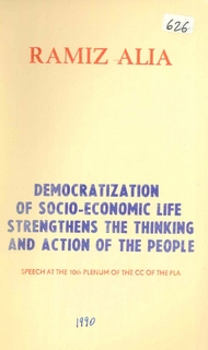1990 Democratization of Socio-Economic Life