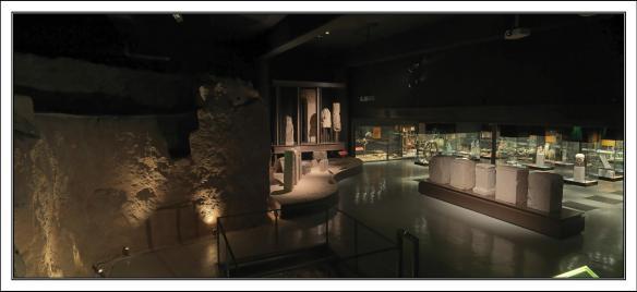 Exhibition Space - Museu de Badalona. Antonio Guillén
