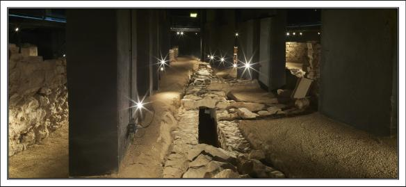 Roman Drains - Museu de Badalona. Antonio Guillén