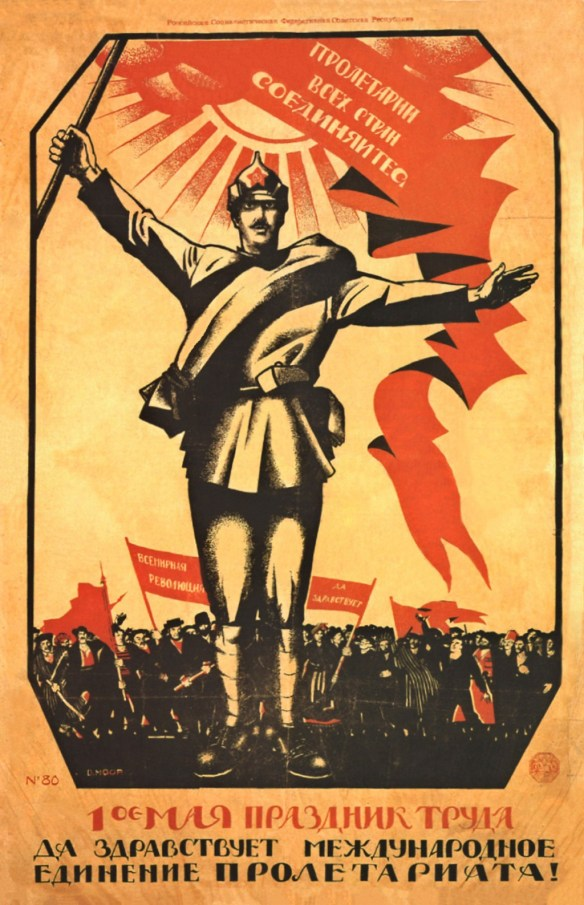 Workers of the World - Unite! - May Day 1920
