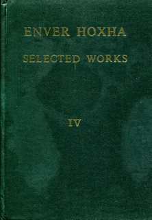 Enver Hoxha, Selected Works, Volume 4