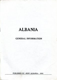 Albania - General Information 1976