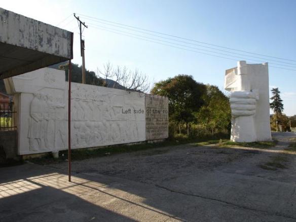 Mushqete Monument - in November 2014