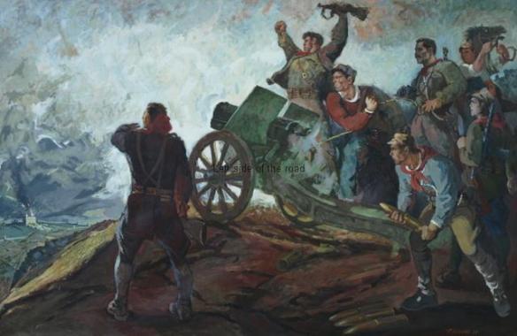 Shelling the traitor's assembly - 1979 - Petro Kokushta