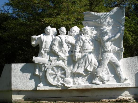 Monument to the 22nd Brigade - Peze