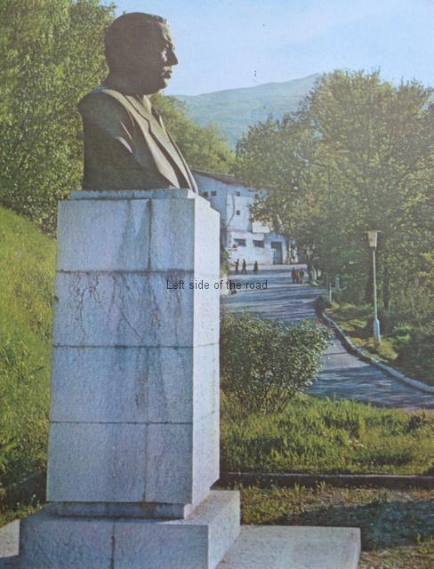Enver Hoxha - Entrance to Gjirokastra