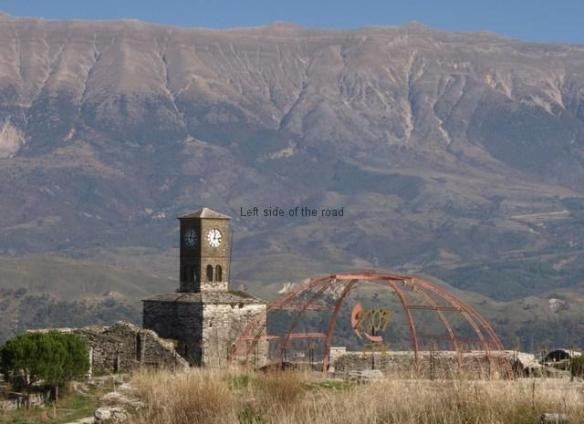 National Folklore Festival site, Gjirokastra Castle
