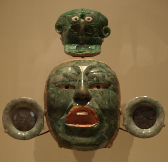 Mayan Exhibition Liverpool - mask
