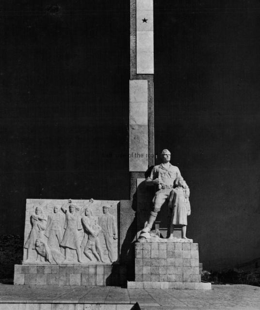 Monument to Borova, Erseke - 01