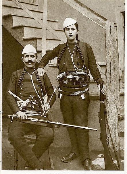 Shota Galica with her husband Azem