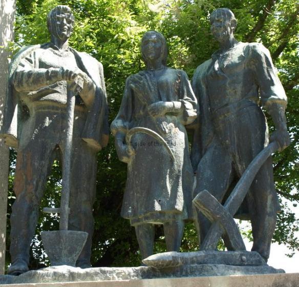Monument to Agrarian Reform - Krutje