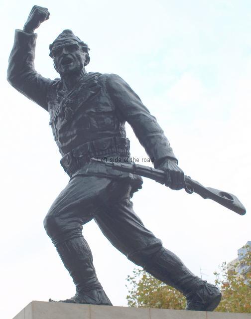 Monument to The Partisan, Tirana