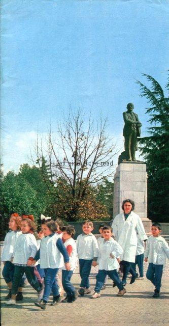 VI Lenin in Tirana - 1970