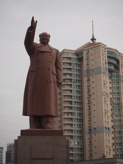 Chairman Mao in Dandong