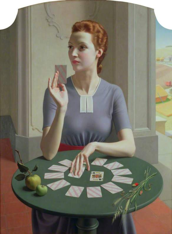 A Game of Patience - Meredith Frampton