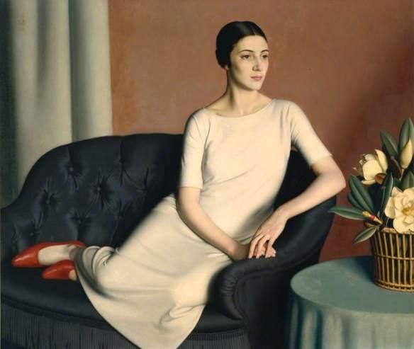 Woman Reclining - Meredith Frampton