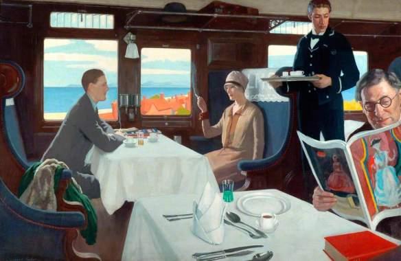 Restaurant Car - Leonard Taylor