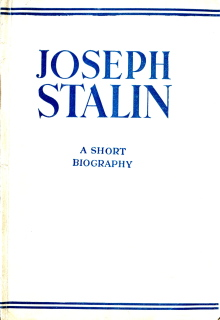 Joseph Stalin - A Short Biography, 1942