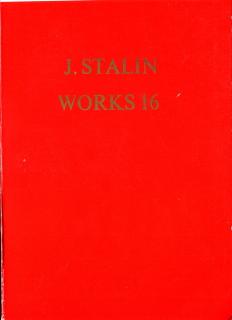 Works Vol 16 - November 1944-1952