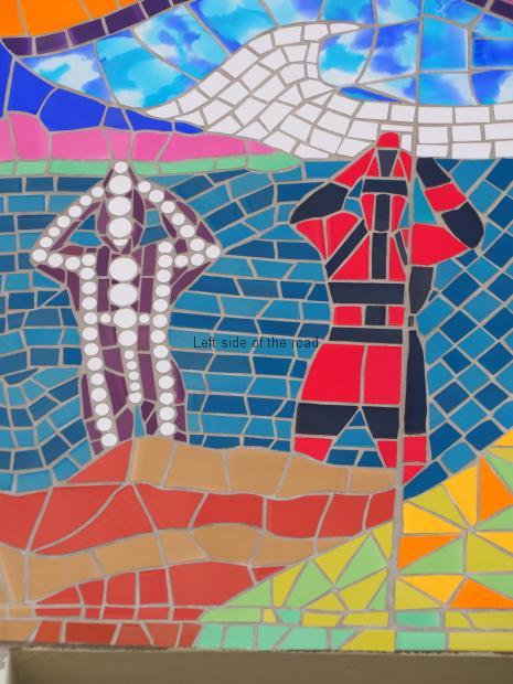 Mosaic - School - Av Crisotbal Colon - Punta Arenas