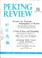 Peking Review 1960 - 11