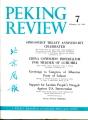 Peking Review 1961 - 07