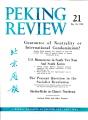 Peking Review 1961 - 21