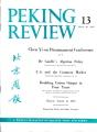 Peking Review 1962 - 13