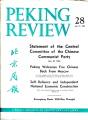 Peking Review 1963 - 28