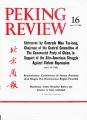 Peking Review - 1968 - 16