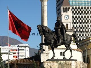 Skenderberg - Skenderbeu Square, Tirana