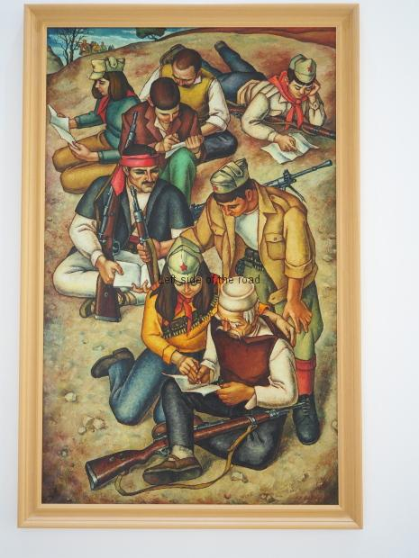 Isuf Sulovari - Partisans resting - 1971