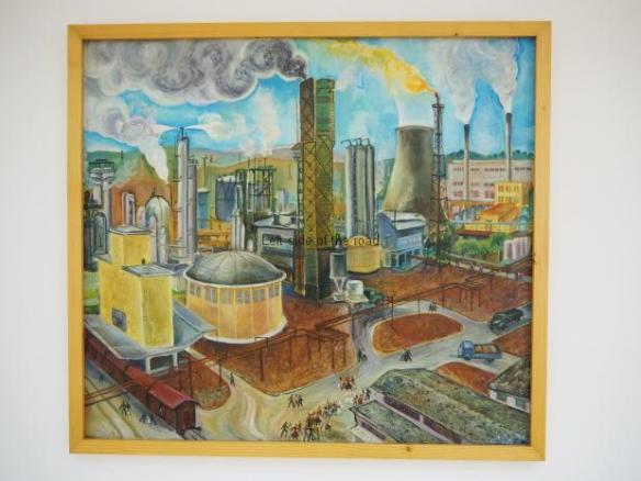 Lumturi Blloshmi - At the industrial plant - 1974