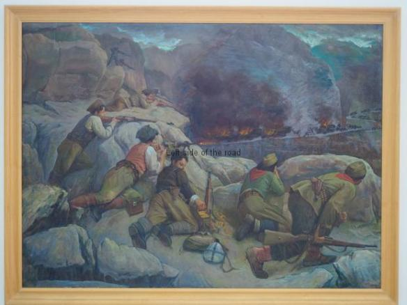 Nexhmedin Zajmi - Partisan ambush - 1956