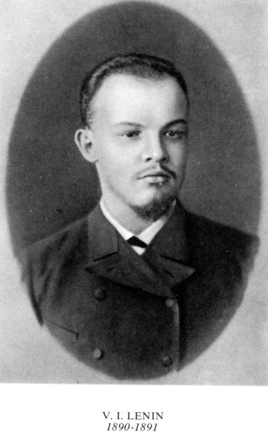 VI Lenin 1890-91