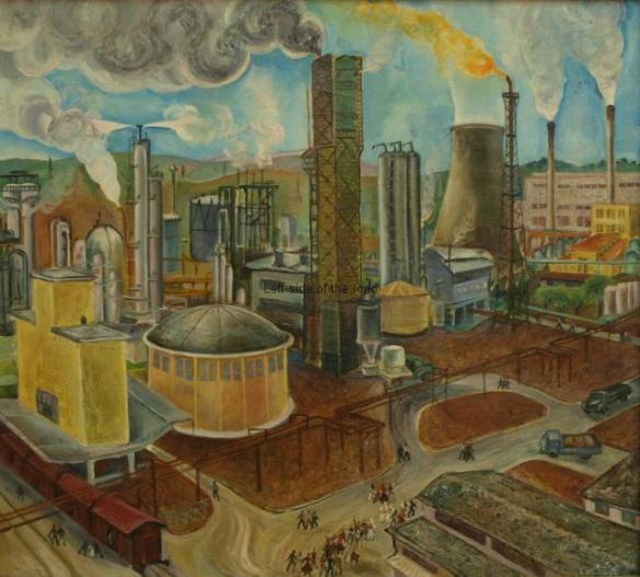 In the industrial complex - 1974 - Lumturi Blloshimi