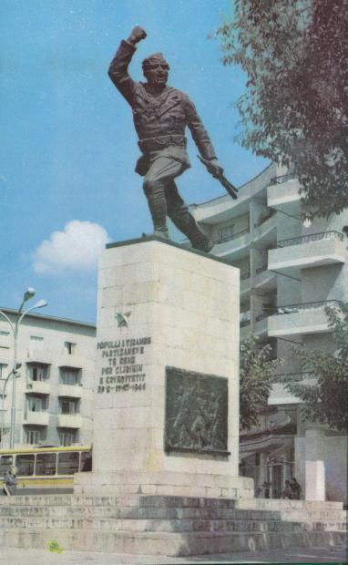Monument to the Partisan - Tirana