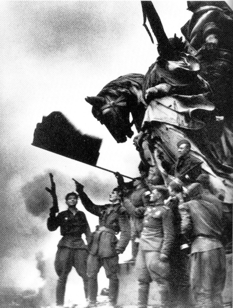 Soviet Troops - Berlin - 9th May 1945