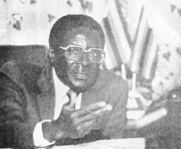 Robert Mugabe 1986