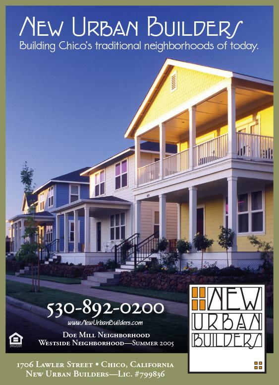 New Urban Builders print ad
