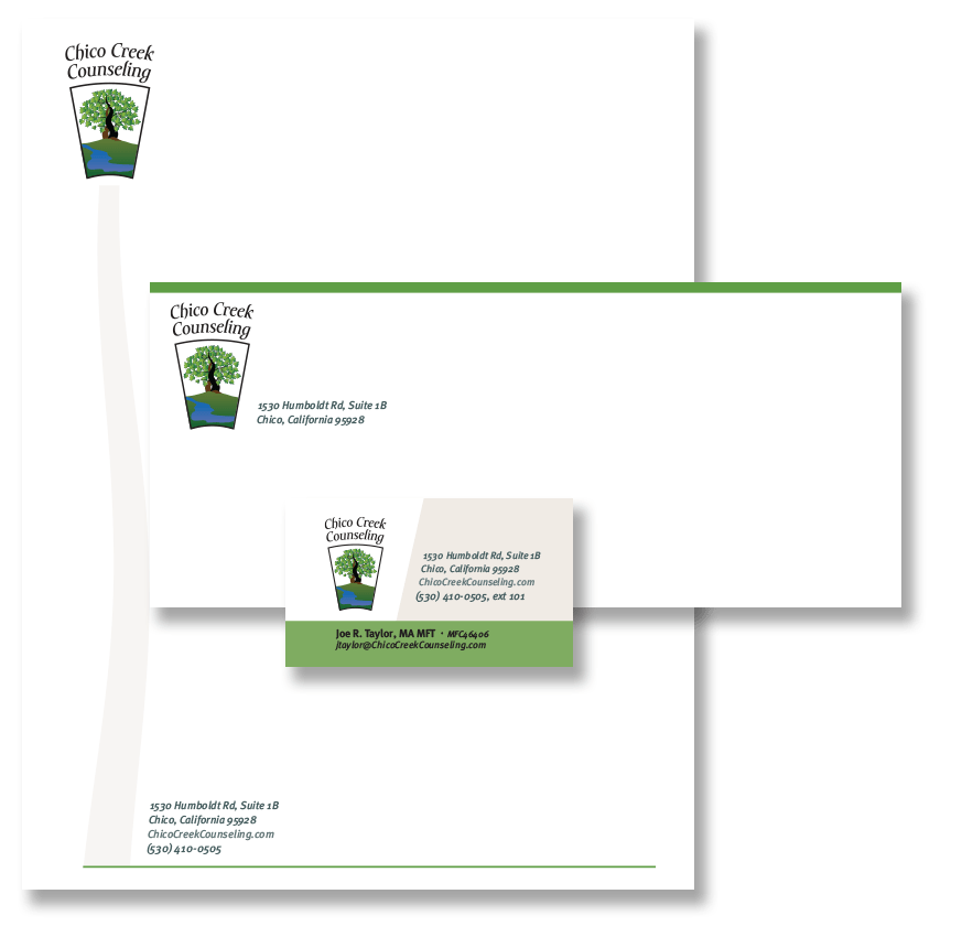 Chico Creek Counseling business system