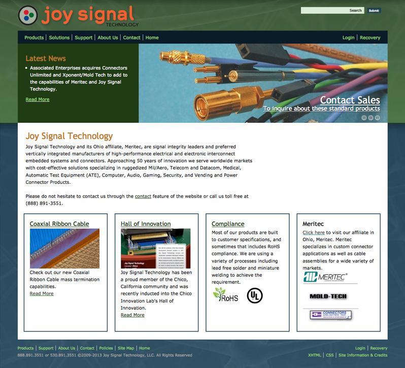 Joy Signal web