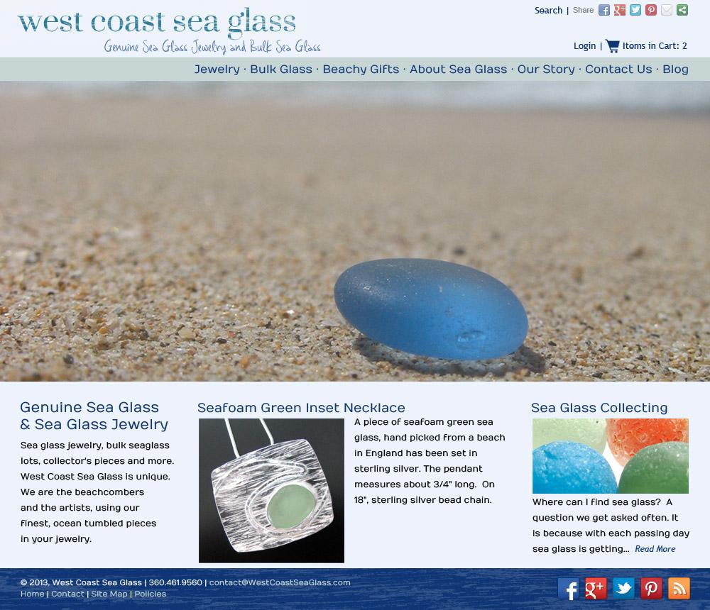 West Coast Sea Glass