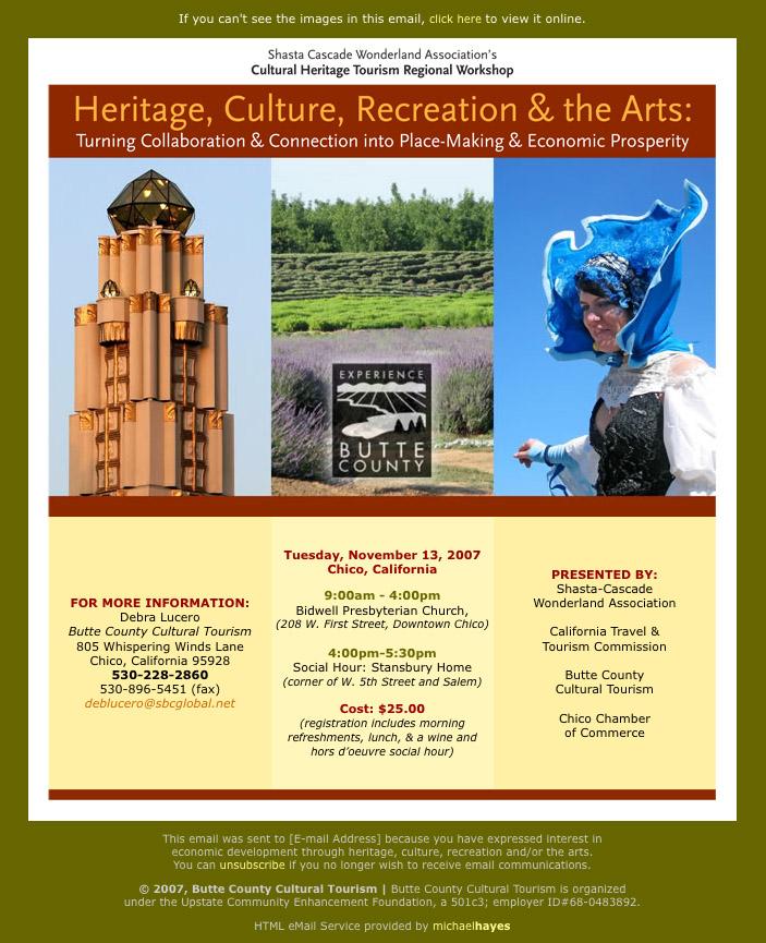 Butte County Cultural Tourism